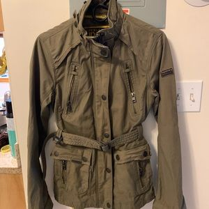 New womens superdry jacket  military style
